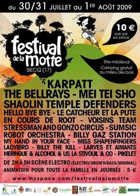 Festival de la Motte 2009