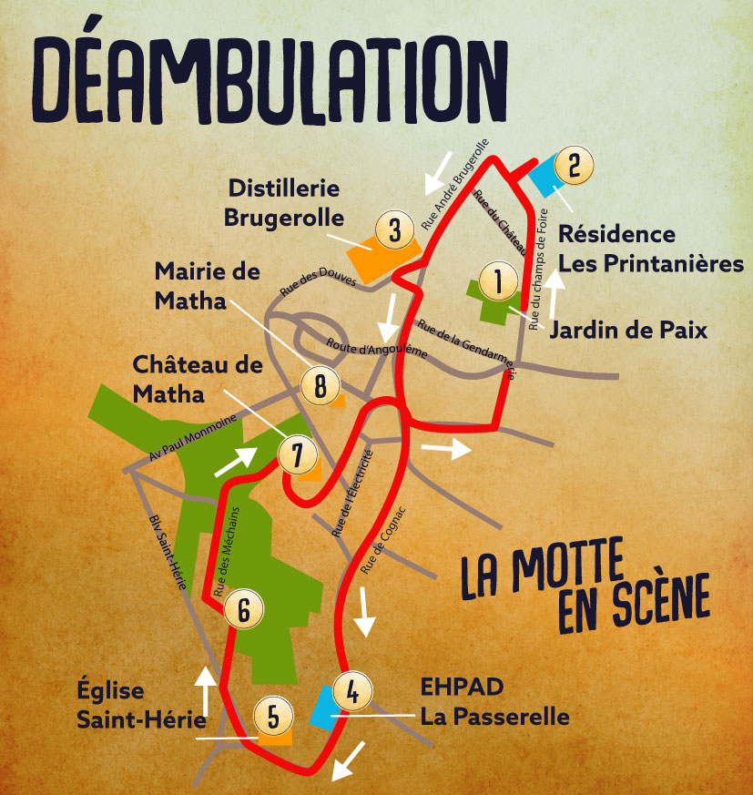 plan déambulation
