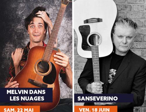 Sanseverino et Melvin dans les Nuages rejoignent la programmation de la saison culturelle !